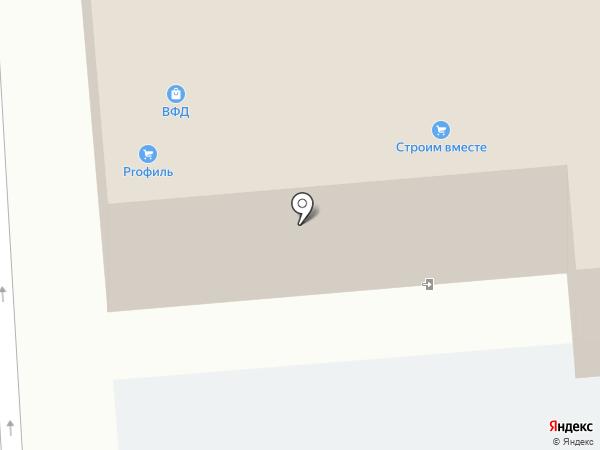 Магазин напольных покрытий на карте Владимира