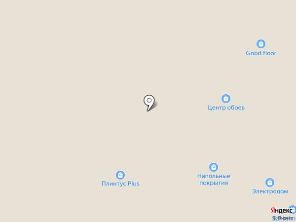 Кафе быстрого питания на карте Владимира