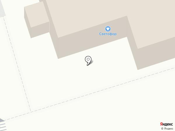 Спасо-Преображенский мужской монастырь на карте Владимира