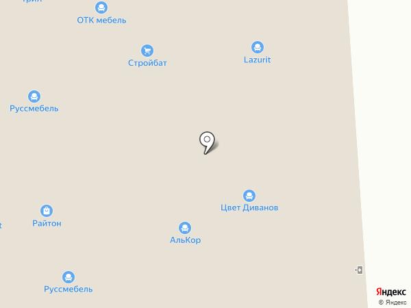 Массив на карте Владимира