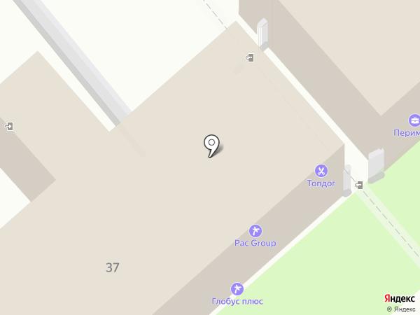 Авто-Бус на карте Владимира