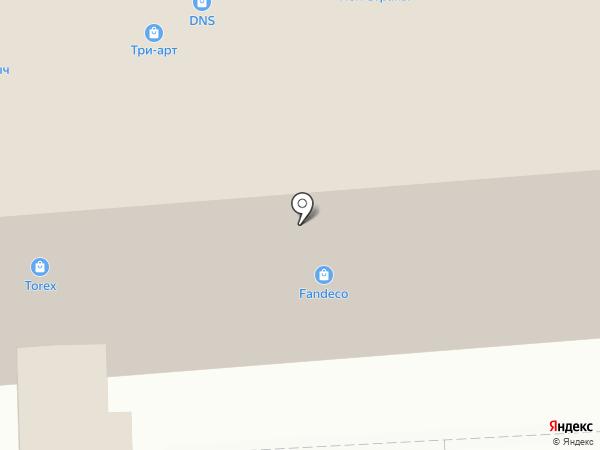 Салон дверей на карте Владимира