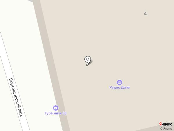 Губерния-33 на карте Владимира
