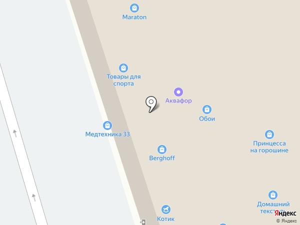 L`dea на карте Владимира