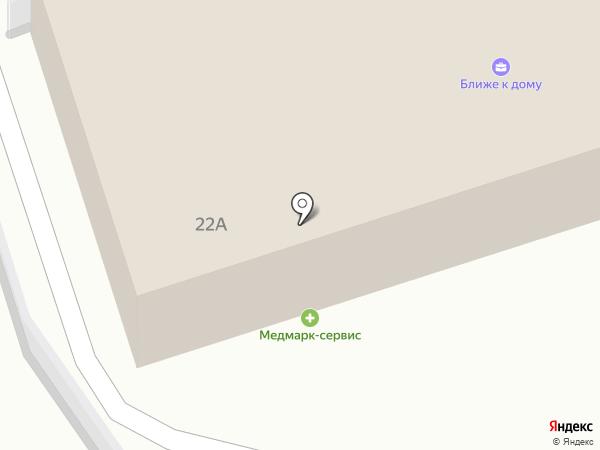 Медмарк-Сервис на карте Владимира