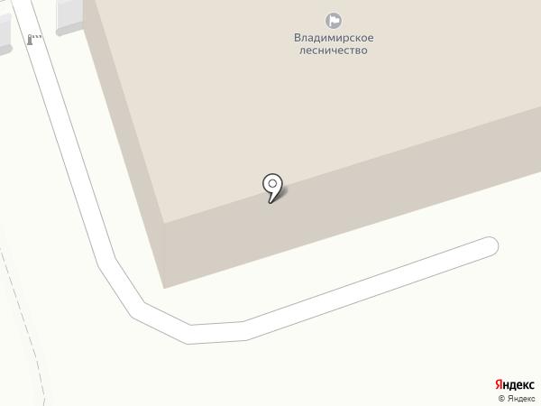 Владимирское лесничество, ГКУ на карте Владимира