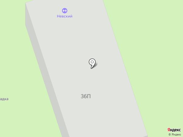 Невский на карте Владимира