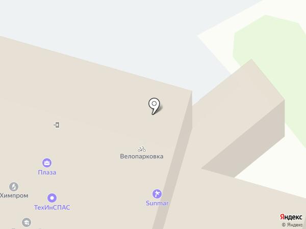 Четвертак на карте Владимира