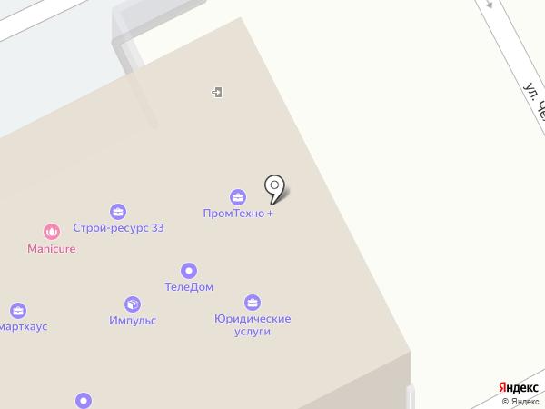 Presniakov.ru на карте Владимира