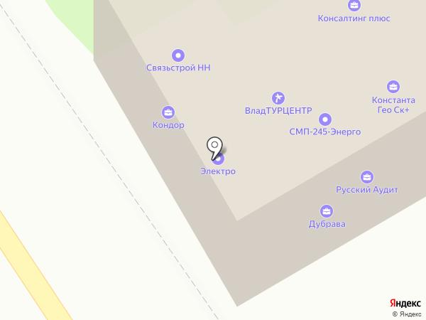 ВРБН на карте Владимира