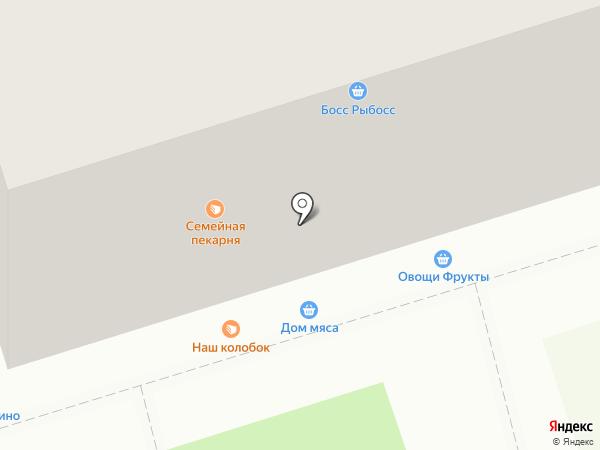 Дом мяса на карте Владимира