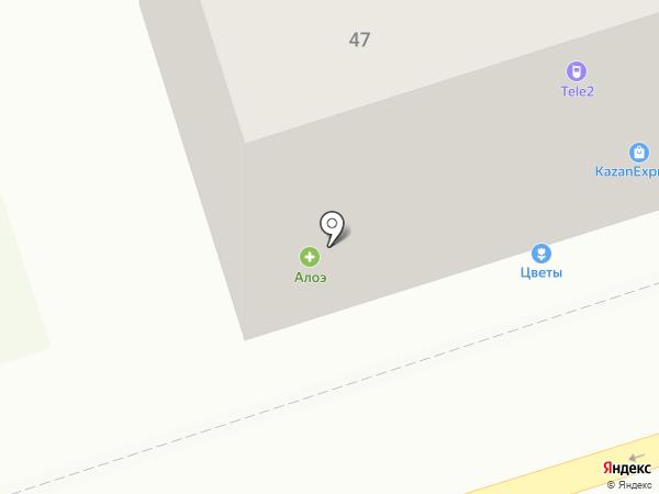 Алоэ на карте Владимира