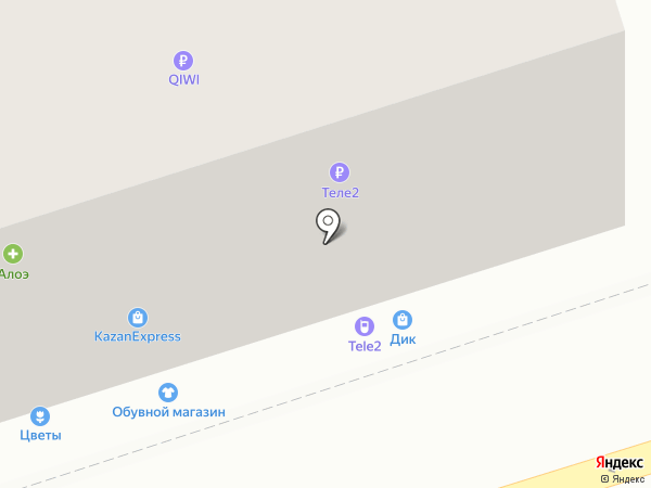 Магазин обуви на карте Владимира