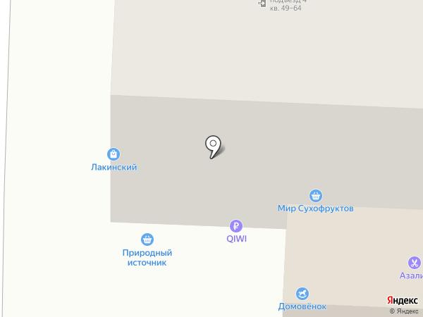 Азалия на карте Владимира
