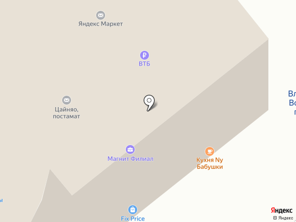 Связной на карте Владимира
