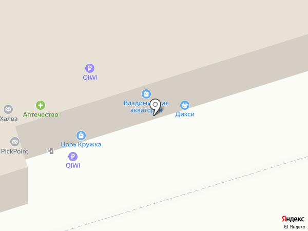 Царь Кружка на карте Владимира