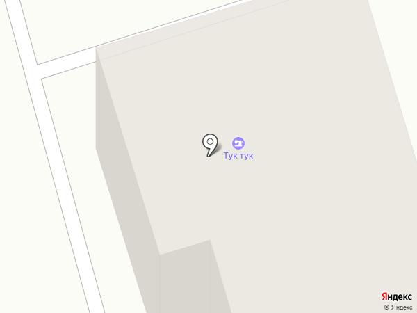 Тук тук на карте Владимира