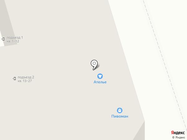 Магазин нижнего белья на карте Владимира