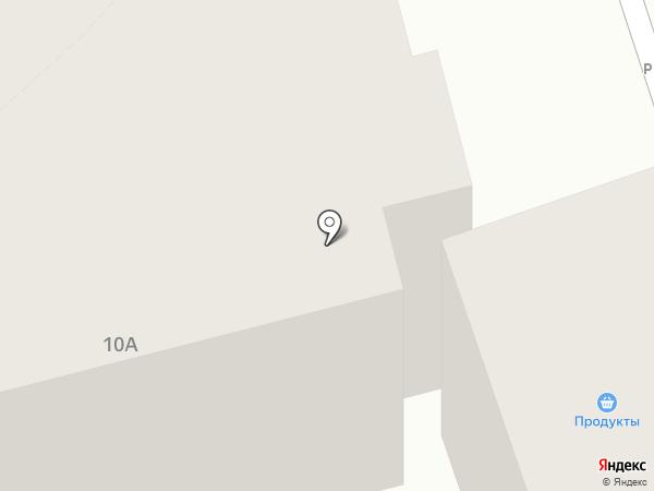 На Почаевской на карте Владимира