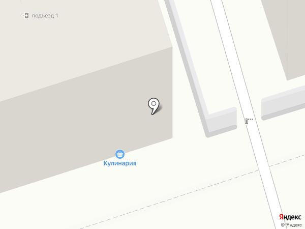 Магазин хлебобулочных изделий на карте Владимира