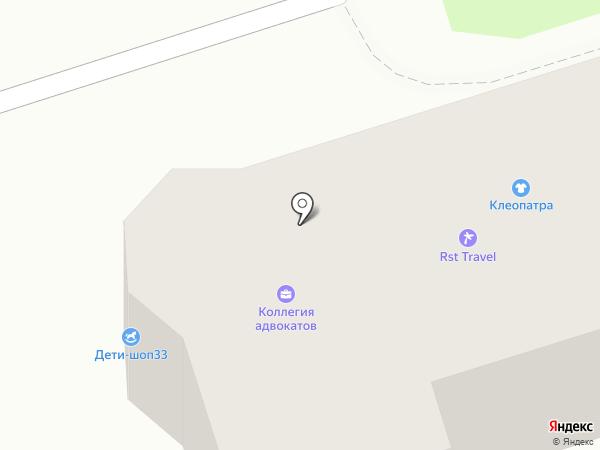 Везёт на карте Владимира