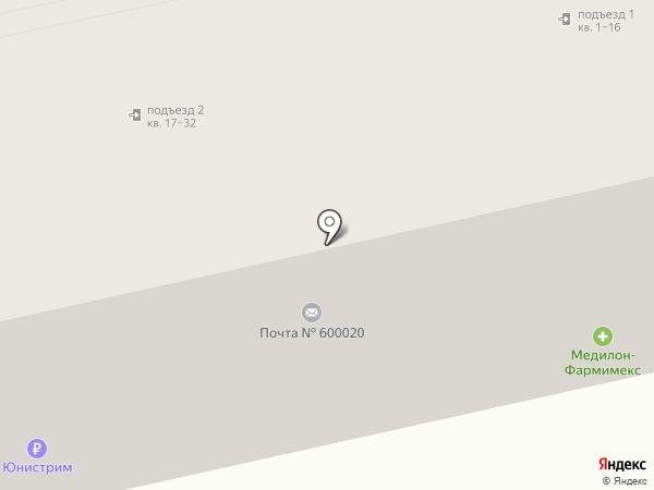 Дверькомплект на карте Владимира
