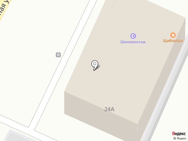 Магазин автозапчастей для иномарок на карте Владимира