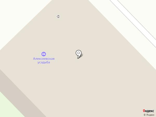 Алексеевская усадьба на карте Суздаля