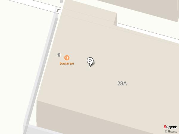 Театральный на карте Суздаля