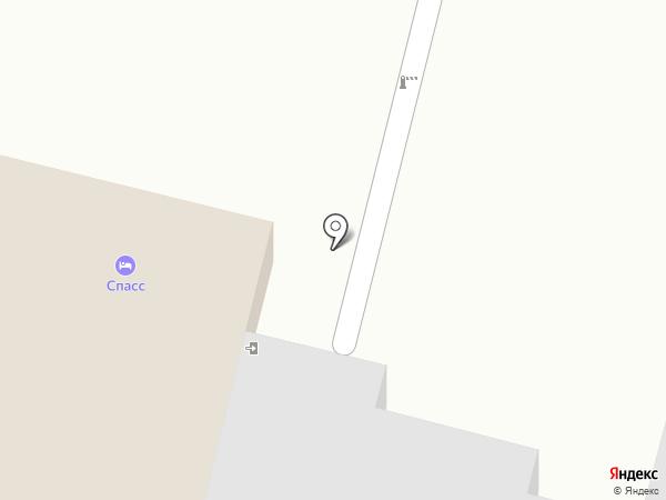 Спасс на карте Суздаля