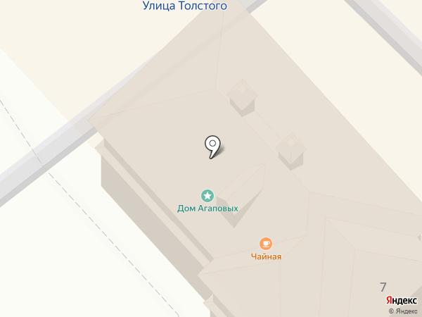Дом купцов Агаповых на карте Суздаля