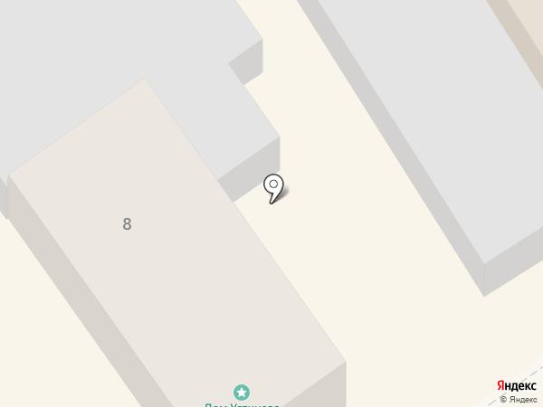 Дом Устинова на карте Суздаля