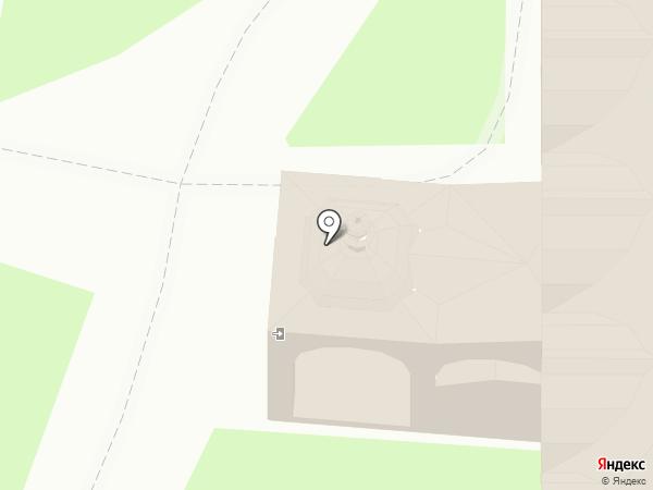 Свято-Покровский женский епархиальный монастырь на карте Суздаля