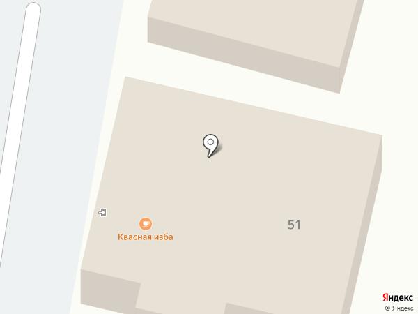 Квасная изба на карте Суздаля