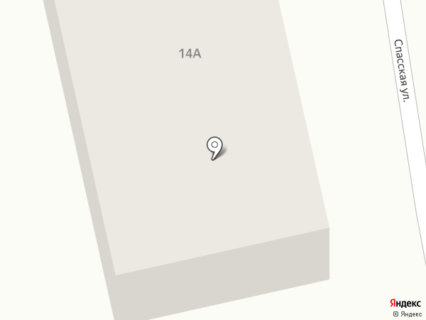 На Спасской на карте Суздаля