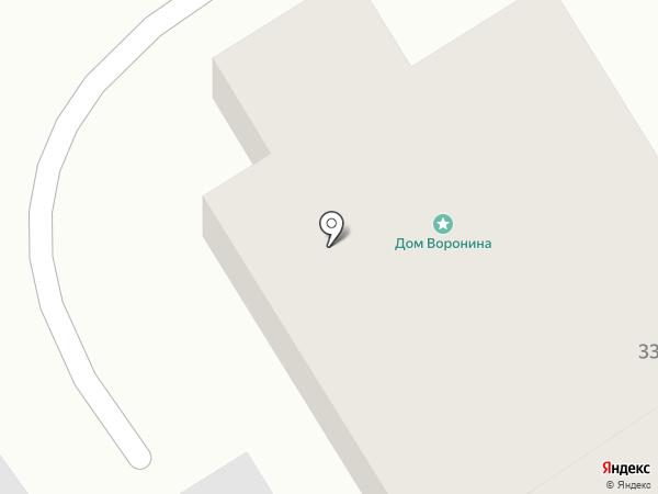 Дом дворянина Воронина на карте Суздаля