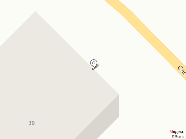 Слободская 39 на карте Суздаля