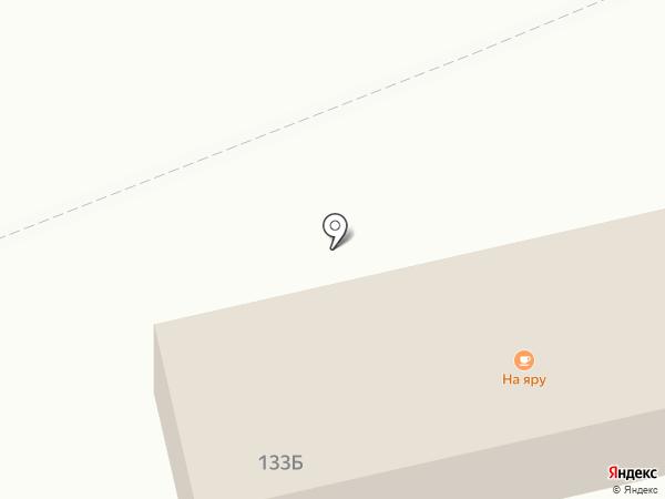 На яру на карте Суздаля