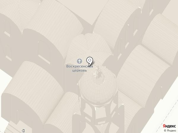 Свято-Воскресенский храм на карте Владимира