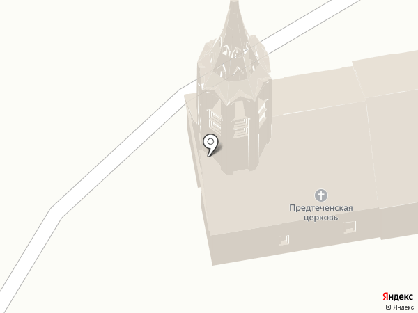 Церковь Рождества Иоанна Предтечи на карте Суздаля