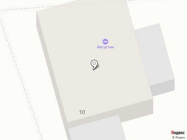 Александровские Усадьбы на карте Суздаля