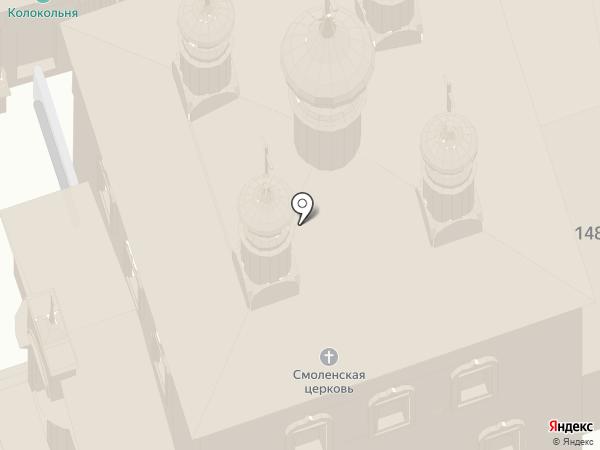 Спасо-Евфимиев монастырь на карте Суздаля