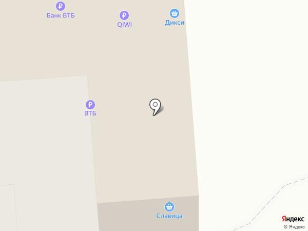 Елена на карте Владимира