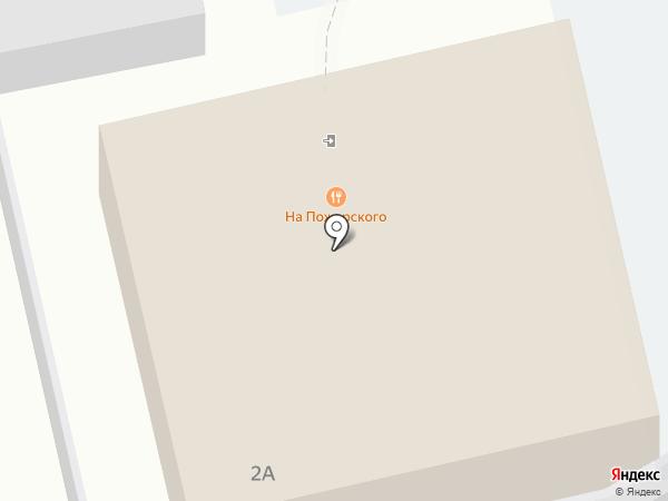 На Пожарского на карте Суздаля