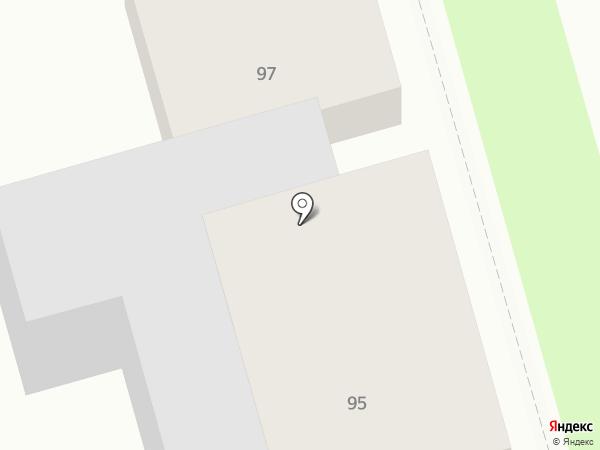 Студио на Ленина на карте Суздаля