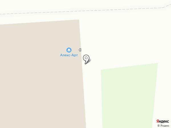 Забор Строй на карте Владимира