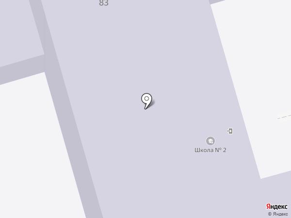 Средняя общеобразовательная школа №2 на карте Суздаля