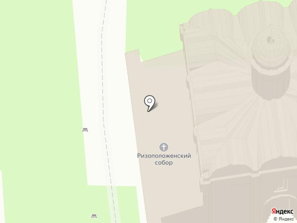 Ризоположенский женский монастырь на карте Суздаля