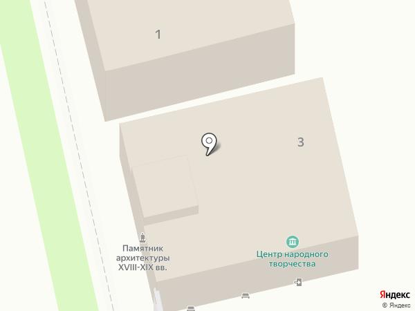 Центр народного творчества г. Суздаля на карте Суздаля