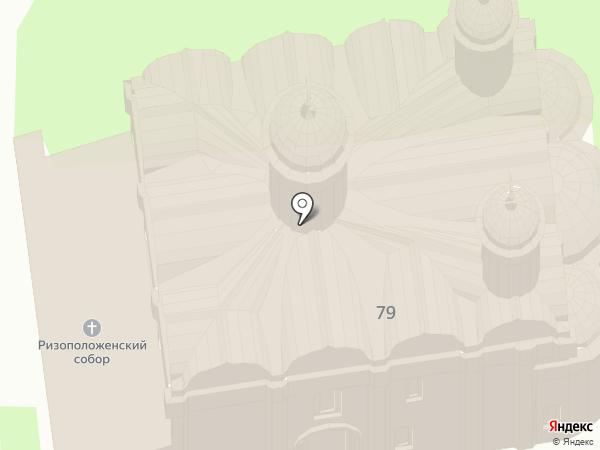 Ризоположенский храм на карте Суздаля